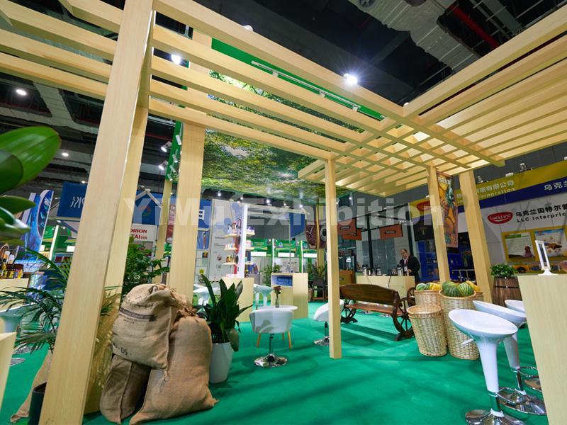 Panama Pavilion' booth construction