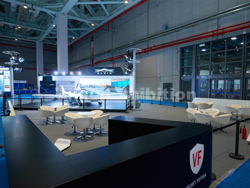 KLEIN Aircar's booth design