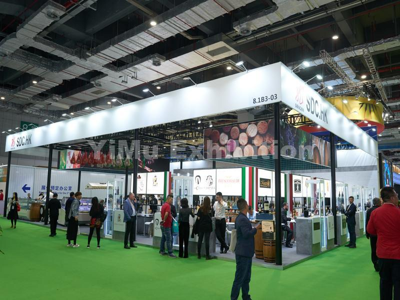 SDC(HK)'s booth design in CIIE