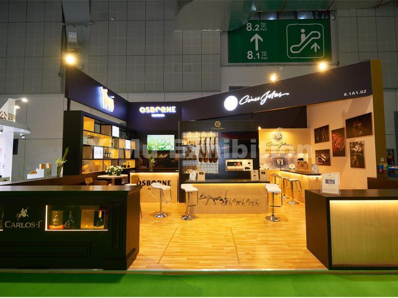 OSBORNE's exhibition stand design
