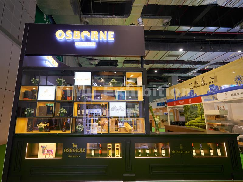 OSBORNE's exhibition stand design in CIIE