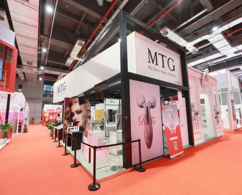 MTG's stand design