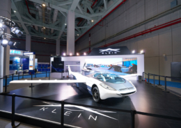 KLEIN Aircar's booth design