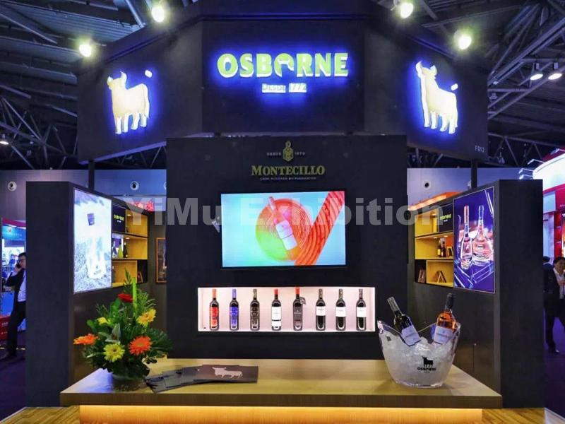 booth design for OSBORNE