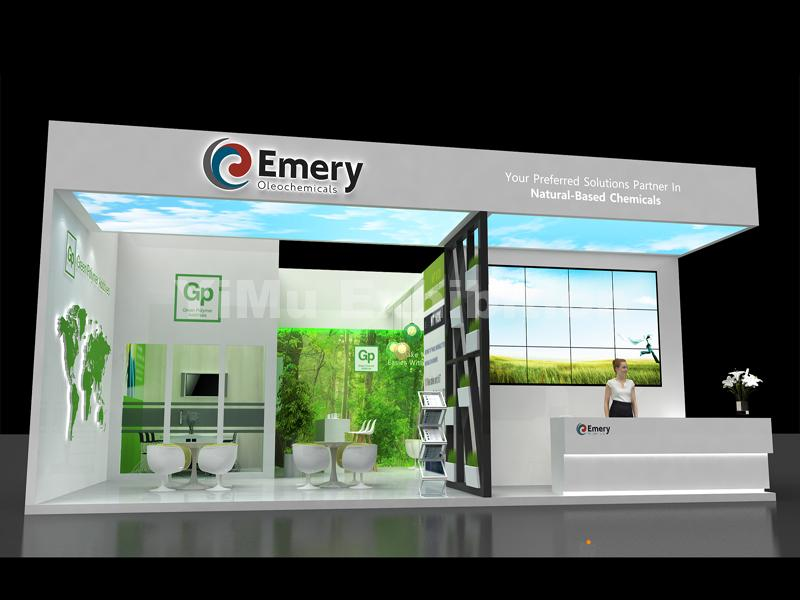 EMERY's booth construction